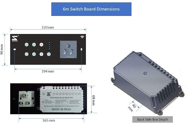 WiFi Smart Switch Board