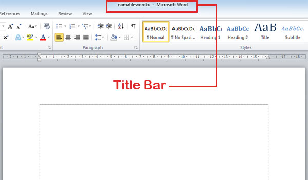 Title-Bar-MS-Word