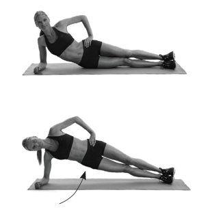 تمرين Pilates Side Hip Raise