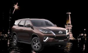 Sewa Mobil Toyota New Fortuner VRZ 2017 Jogja