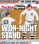 Stumbling Yankees still winning back pages