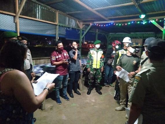 Pengusaha Cafe di Tanjung Pinggir Terkonfirmasi Covid-19, Satgas Sosialisasi PPKM