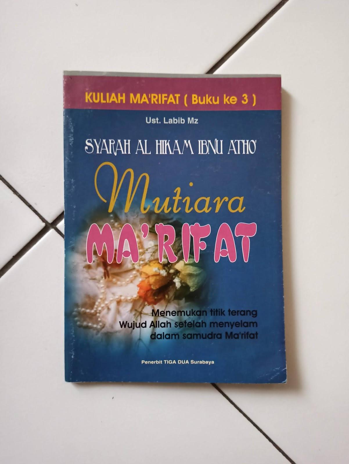 Buku Karya Ustaz Labib Mz