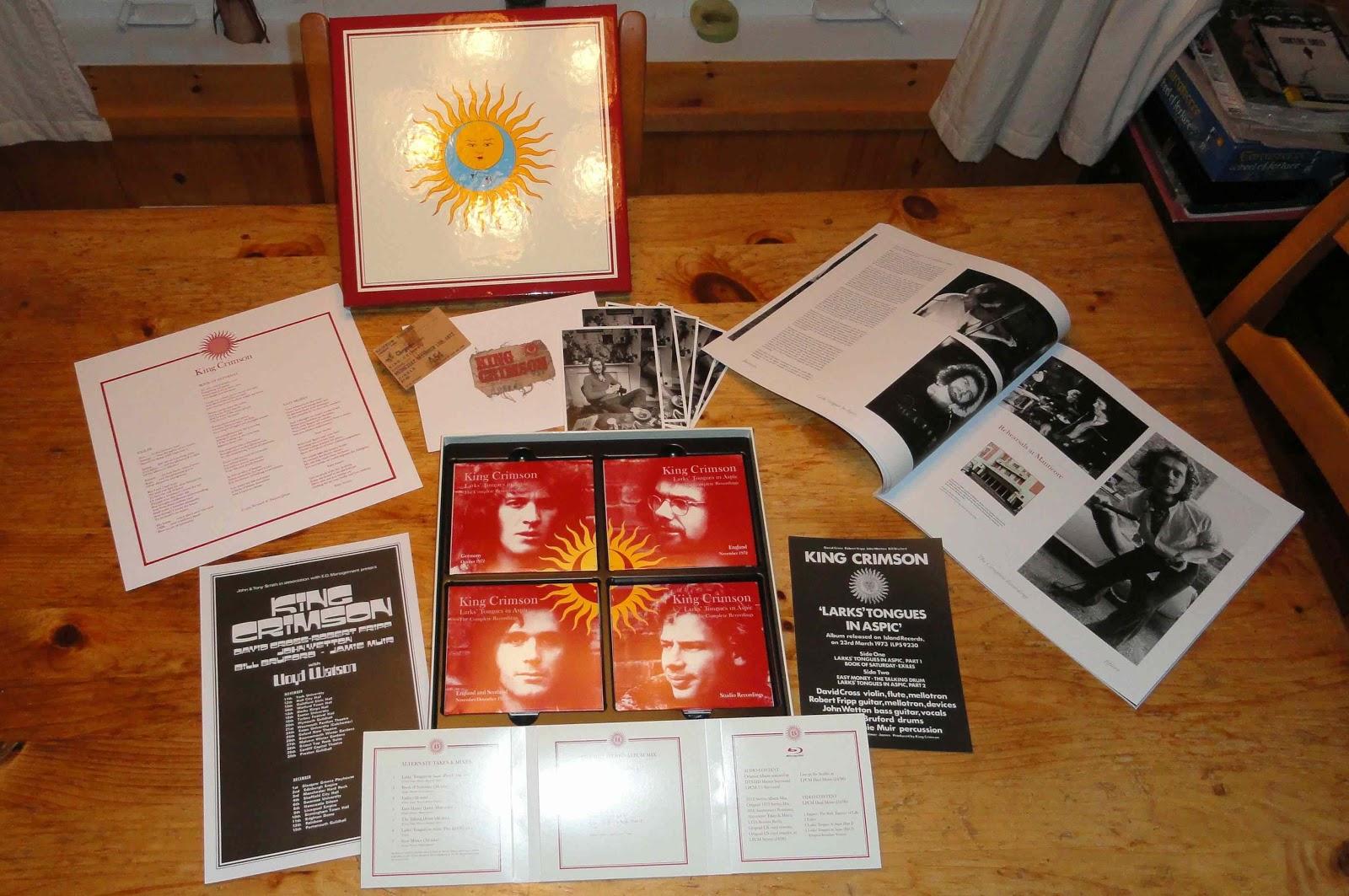 Monsieur Délire: 2012-11-26: King Crimson, Murmer