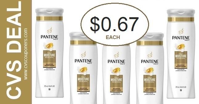 CVS Couponers Pantene Deal 10-11-10-17
