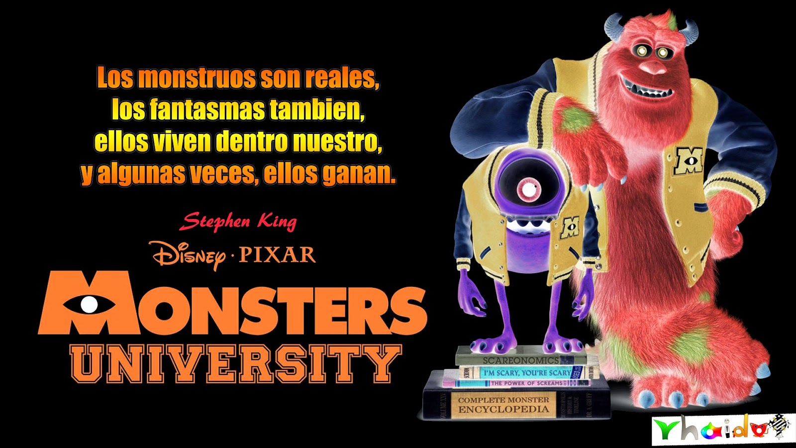 la pelicula Monsters University