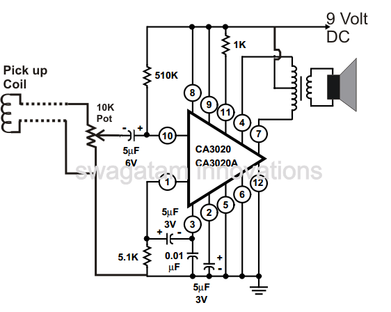 how to make a simple telephone ring amplifier