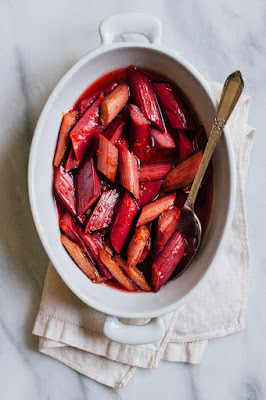 Image result for roasted rhubarb