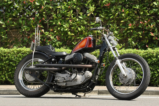 Harley Davidson By Hip Line Motor Recycle Shop Hell Kustom