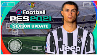 Download eFootball PES 2021 PPSSPP New Update Face And Jersey Club 2022 & English Version Commentary Peter Drury
