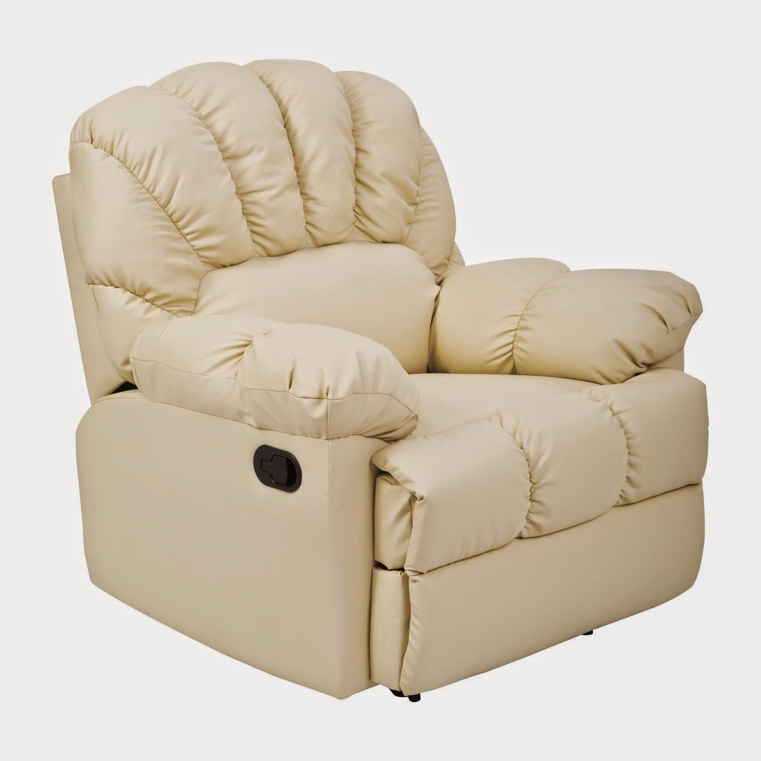 Cheap Sofas On Sale: Cheap Reclining Sofas Sale: Cream Leather Recliner Corner Sofa