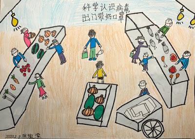 Коронавирус, рисунки, картинки, Китай, эпидемия, врачи, 2020, вирусы