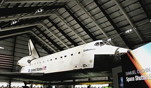 space shuttle endeavour california science center
