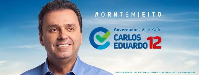 Resultado de imagem para foto oficial carlos eduardo governador