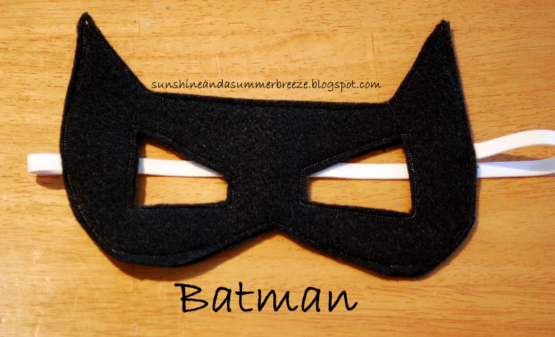 Sunshine and a Summer Breeze Free Template for Batman and Catwoman