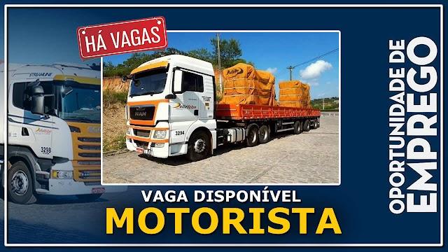 Transportadora Della Volpe abre vagas para Motorista