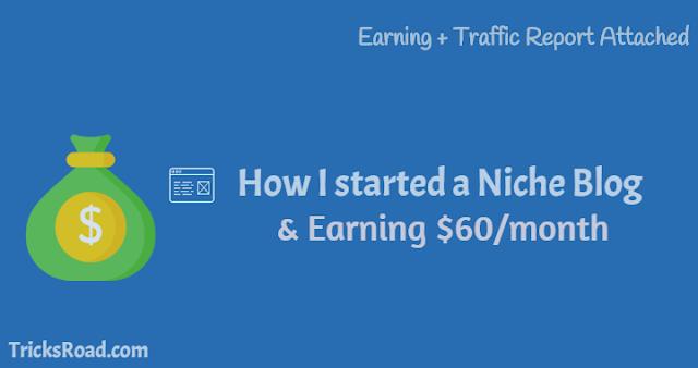 How to start a niche blog