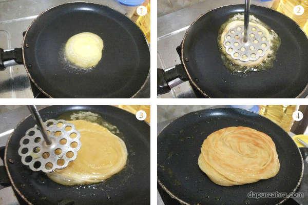 cara membuat roti maryam empuk