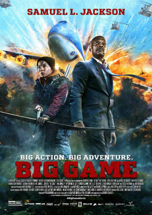 Big Game 2014 BRRip 300MB Hindi Dual Audio ORG 480p