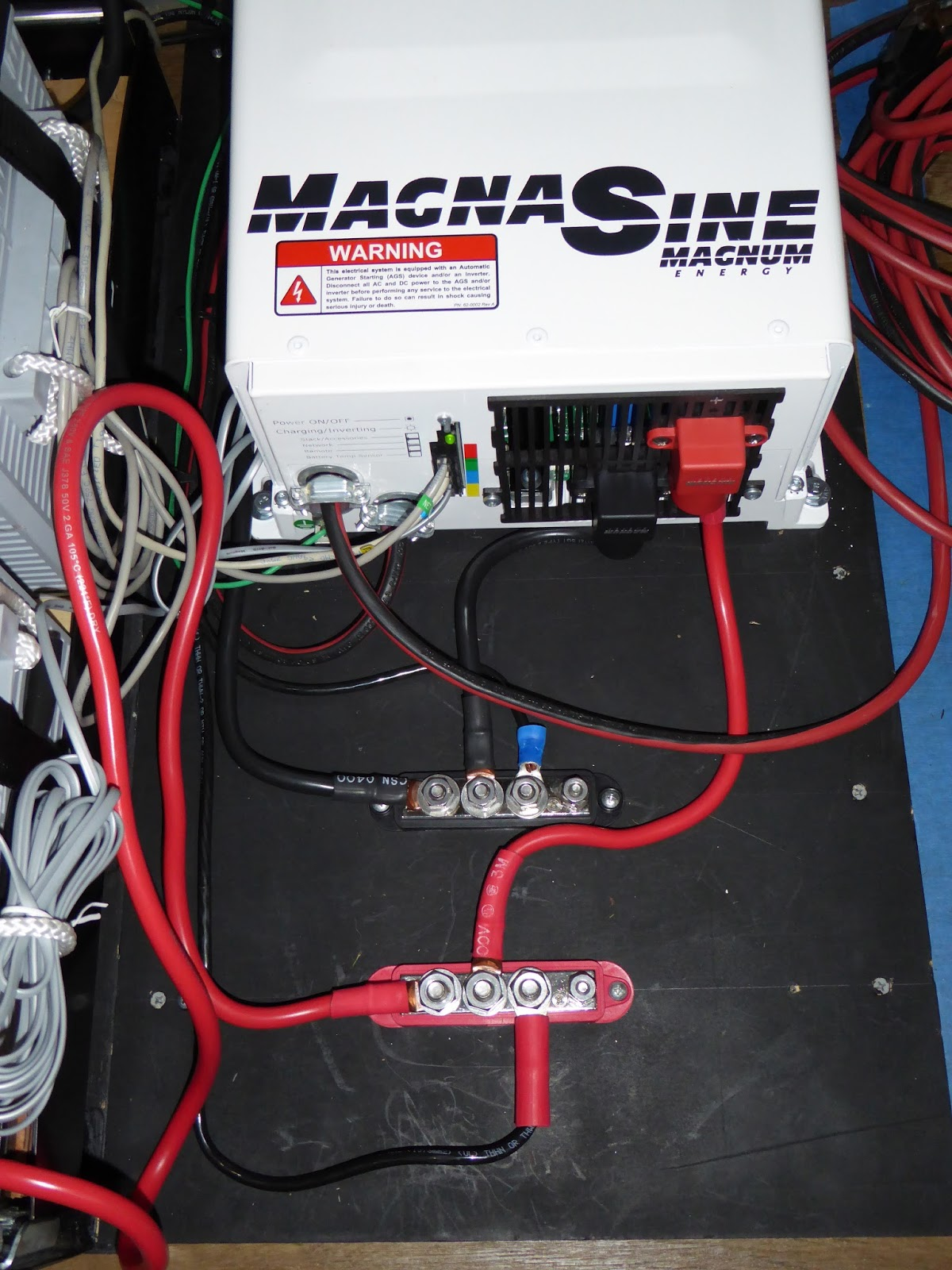 Building Annie: A Campervan Conversion - Page 9 - Cl B Forums on newmar inverter wiring, magnum battery wiring, enphase inverter wiring, inverter charger wiring,