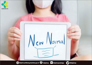 New Normal Kementrian Kesehatan