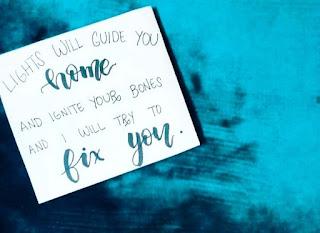 Lirik Lagu Coldplay Fix You Serta Terjemahan Artinya!!!