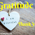 Gratitude Change your Life, Powerful Process of Gratitude, Law of Attraction.