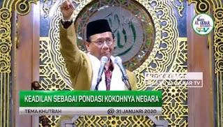 Mahfud Ceramahi Menkopolhukam: Kalau Hukum Tidak Ditegakkan dengan Adil, Negara Akan Hancur
