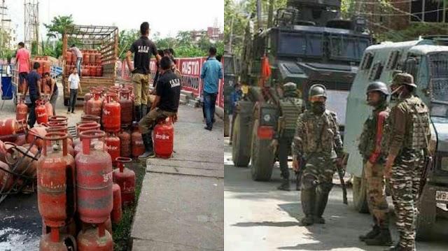 चीन से तनाव के बीच कश्मीर में LPG स्टॉक बढ़ाने का हुआ आदेश, स्कूलों को खाली करने का भी फरमान!