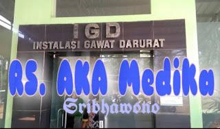 Alamat RS aka Medika Sribhawono