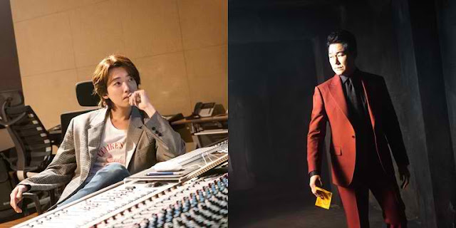 "[K-Drama]: Jung Kyung Ho and Park Sung Woong as a composer and the devil in ""When the Devil Calls Your Name"""