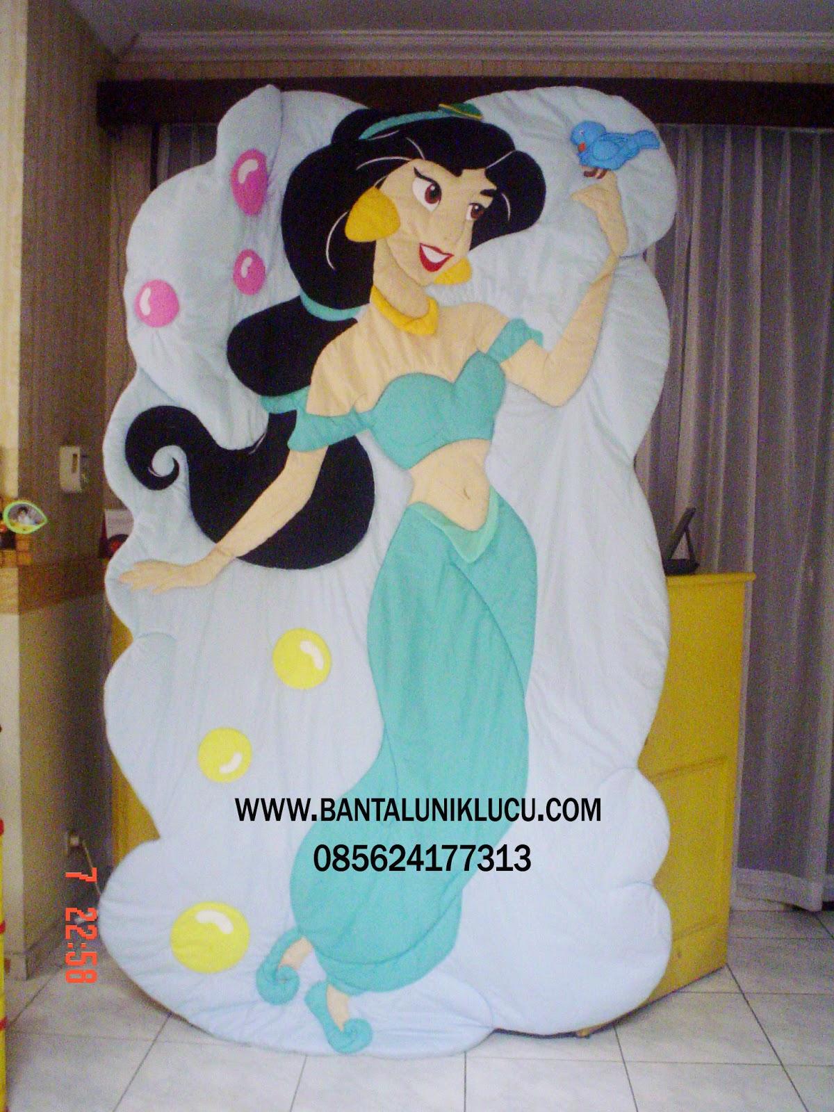 Bed Cover Karakter Jasmine Bantal Unik Lucu
