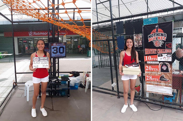 This Filipina Woman Amazed Everyone When She Scored 30 Points in 40 Seconds at a Basketball Shootout Challenge!