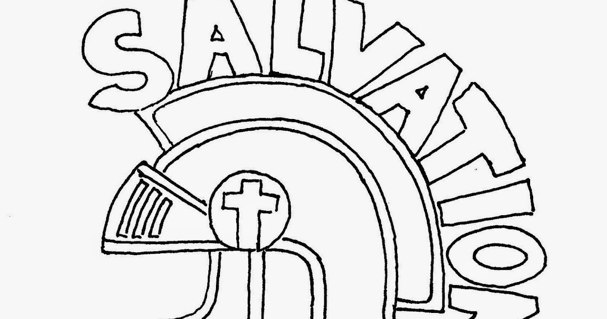 Coloring Pages for Kids by Mr. Adron: The Helmet Of