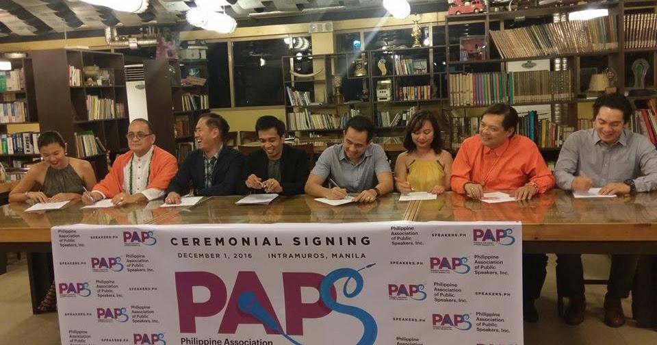 Philippine Association of Public Speakers: The Future of ...