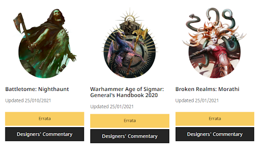 FAQs Age of Sigmar