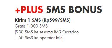 sms gratis im3 ooredoo