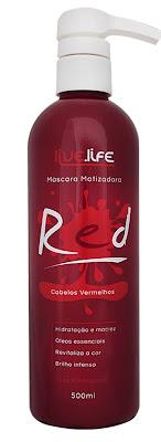 Máscara Matizadora Red da Live.Life