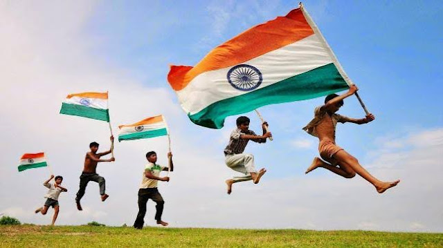 Independence day celebration In India