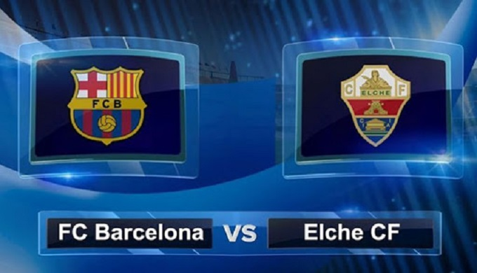 ملخص مباراة برشلونة والتشي اليوم