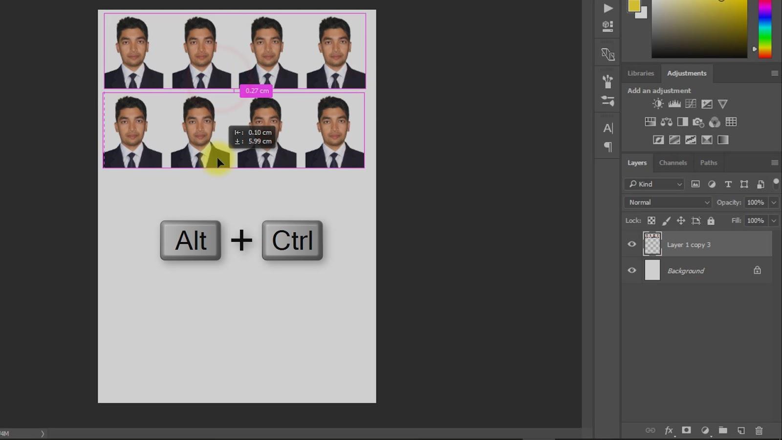 best way to create passport size photo screenshot 6