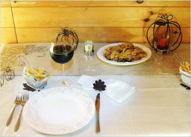 Mi Cena de Thanksgiving: Perdices en Escabeche