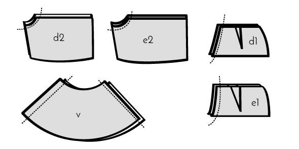 931427ce1 Patrón: Falda-pantalón | Mi primera máquina de coser