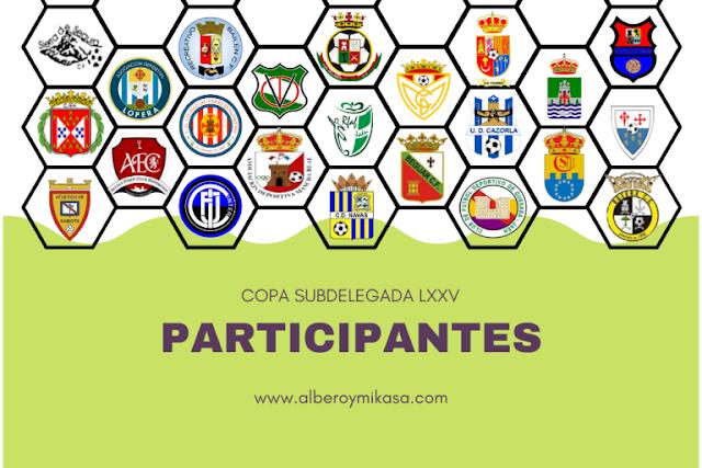 SENIOR:El Orcera participara en la LXXV Copa Subdelegada junto otros 21 participantes