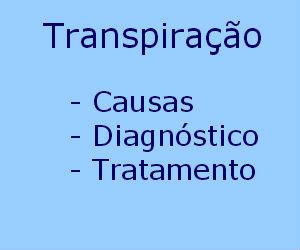 Transpiração causas diagnóstico tratamento