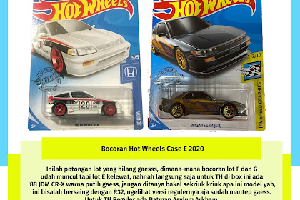 Bocoran Hot  Wheels Case E 2020