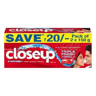 Closeup Anti Germ Gel Toothpaste