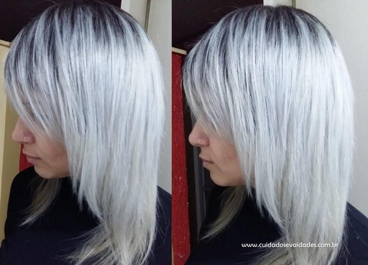 Cabelo platinado blond