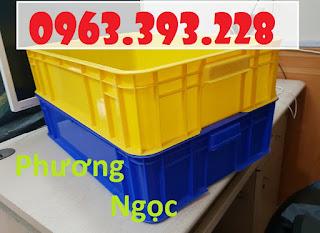 Thùng nhựa đặc cao 15, thùng nhựa HS007, thùng nhựa công nghiệp 20180407_115850