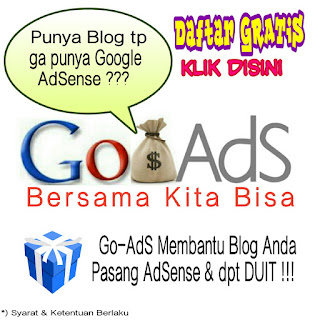 JV AdSense dengan Go-AdS